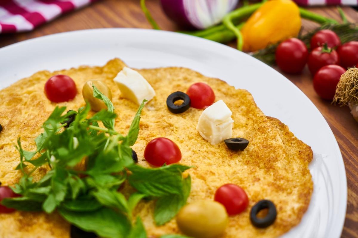 frittata con verdure