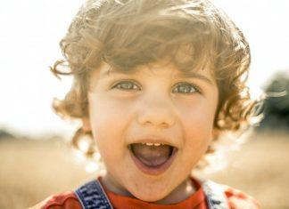 bambino che sorride