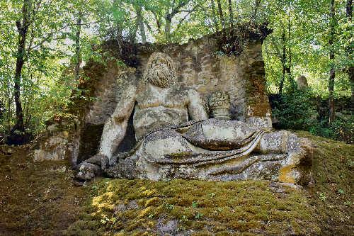 Il parco sacro dei mostri di bomarzo una passeggiata tra - Il giardino italiano ...