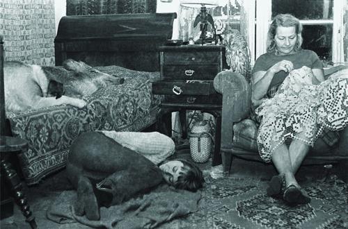 Simona Kossak con sua madre