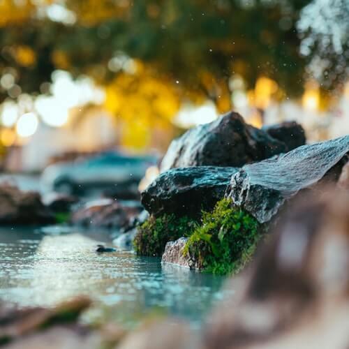acqua e rocce