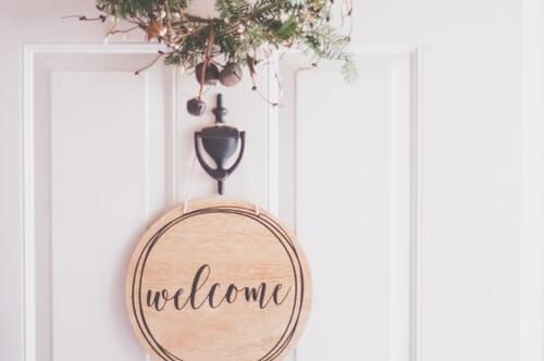 benvenuto in casa