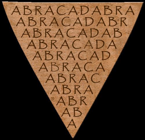 amuleto-magico-con-la-parola-abracadabra