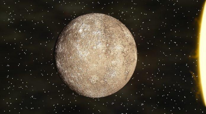 Mercurio nello spazio