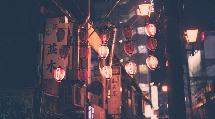 lanterne giapponesi