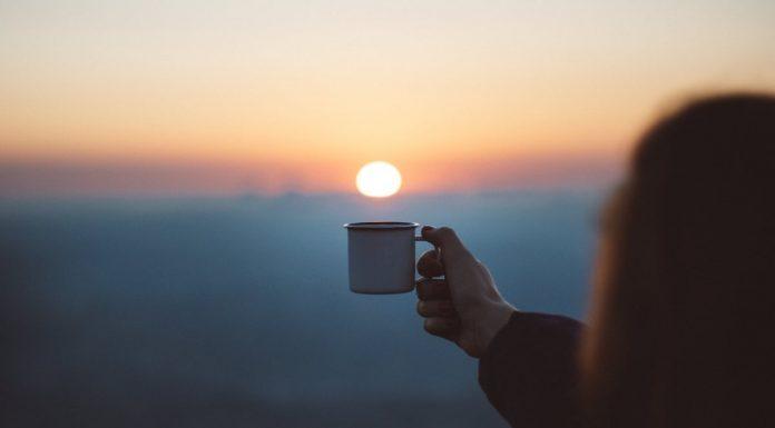 tazza che brinda al sole